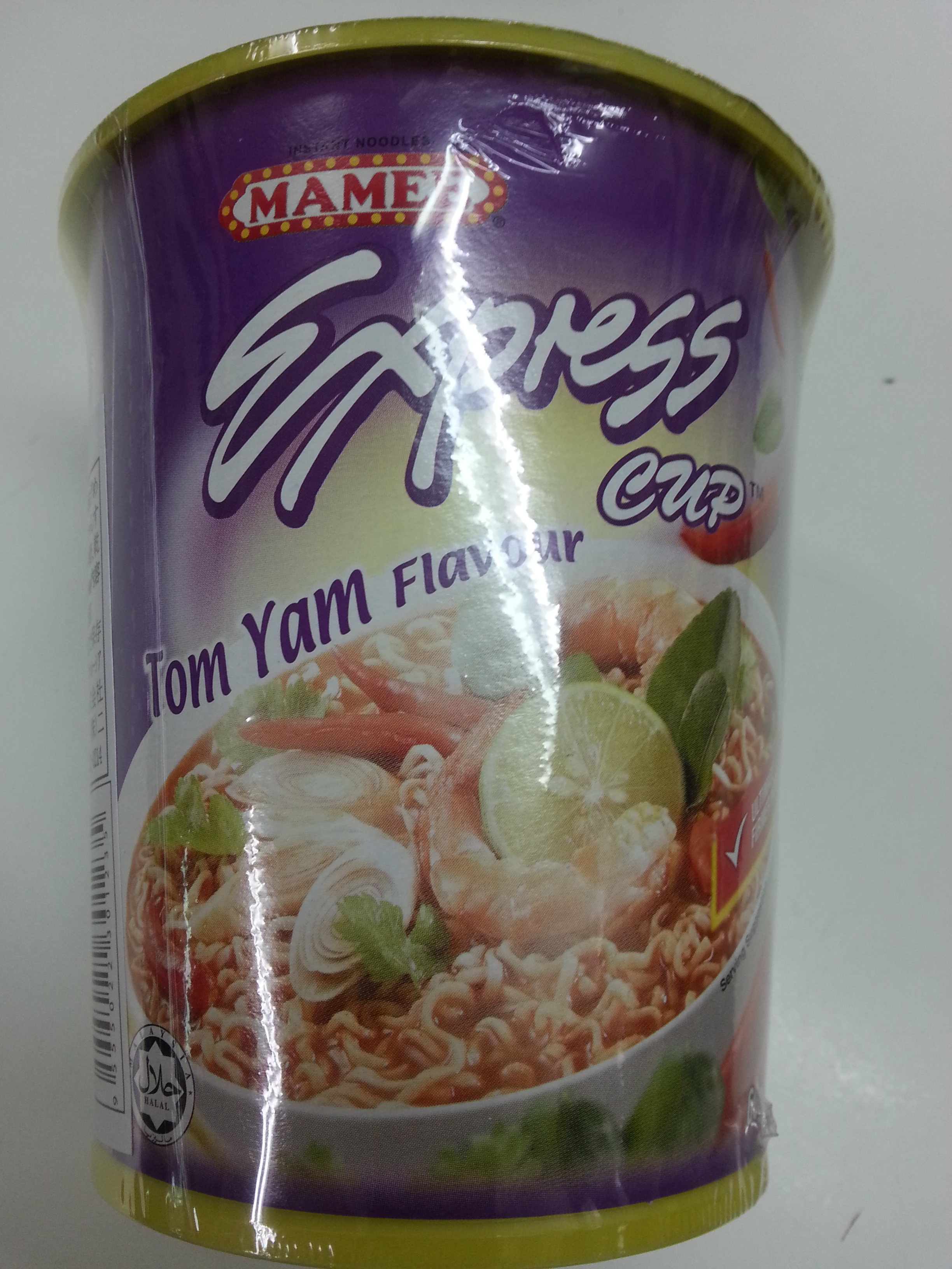 Tom Yam Flavour (Cup Noodle)