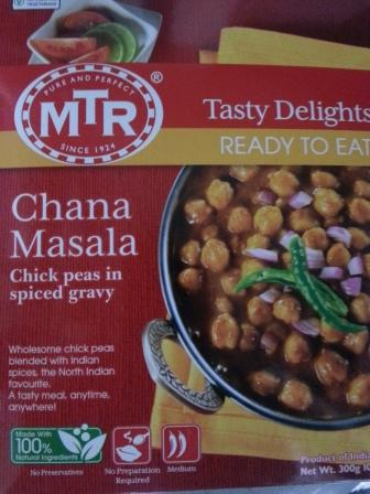 Chana Masala (curry)