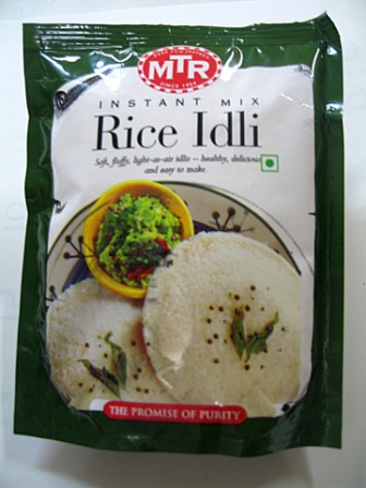 Instant Mix Rice Idli