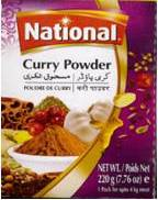 Curry Powder small (National)