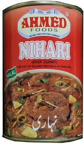 Nihari (Hot Beef Curry)