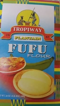 Plaintain Fufu Flour